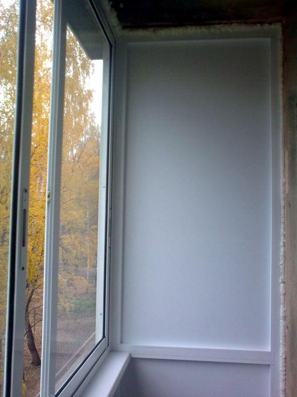 Остекление балкона уралстеклострой (ижевск).
